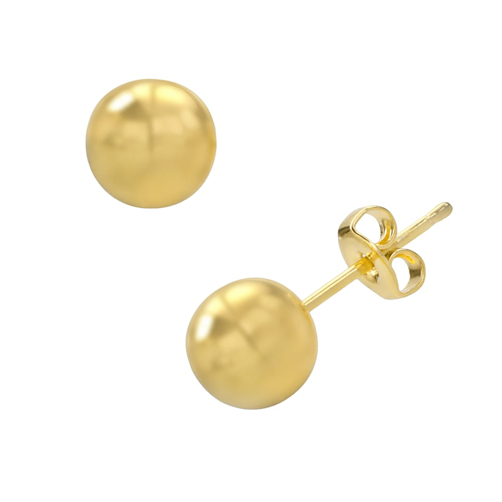 14k gold stud earrings