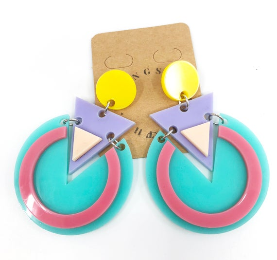 80s earrings