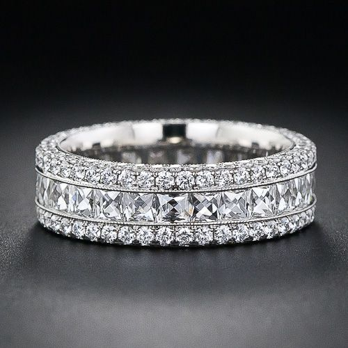 diamond bands rings
