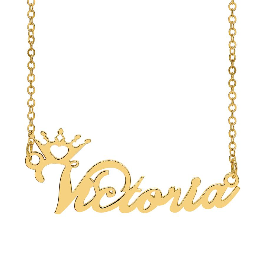 get name on necklace