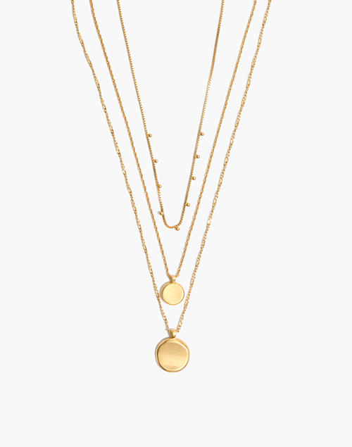 necklaces gold